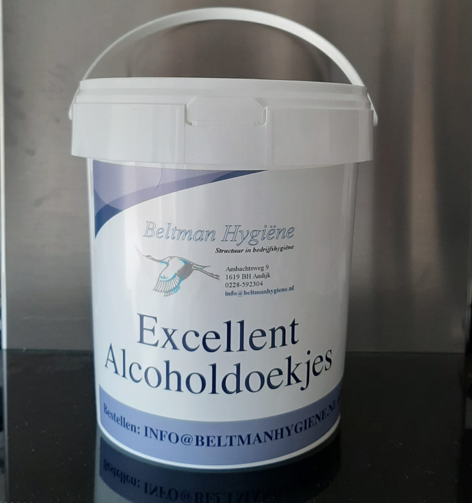 Excellent Alcoholdoekjes dispenser Image